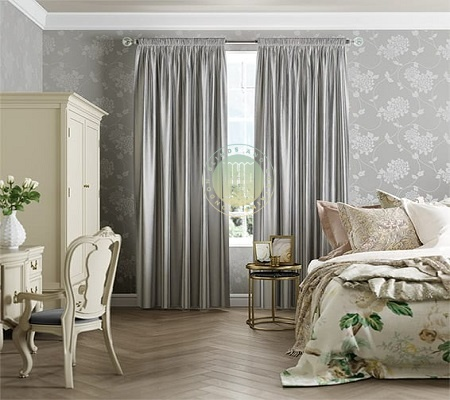 Real and Faux Silk Curtains